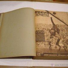 Coleccionismo deportivo: SEMANARIO VIDA DEPORTIVA AÑO 1953. Lote 43472576