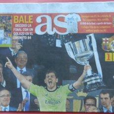 Coleccionismo deportivo: DIARIO AS - REAL MADRID CAMPEON COPA DEL REY 13/14 - CAMPEONES 2013/2014 BALE- BARÇA. Lote 118932066