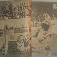 Coleccionismo deportivo: REVISTA MARCA - 61 NÚMEROS (OCTUBRE 1944 - JUNIO 1947) ENCUADERNADOS EN 3 TOMOS. Lote 43473907