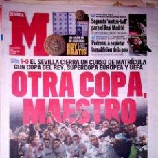 Coleccionismo deportivo: PERIODICO DIARIO MARCA SEVILLA CAMPEON COPA DEL REY SEVILLA - GETAFE. Lote 43564337