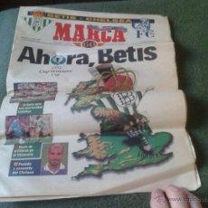 Coleccionismo deportivo: SUPLEMENTO PERIODICO DIARIO MARCA 1998 FUTBOL REAL BETIS CHELSEA UEFA CUP WINNERS. Lote 43665162