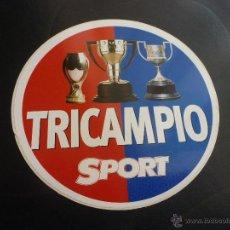 Collectionnisme sportif: ADHESIVO BARÇA TRICAMPIÓ-F.C.BARCELONA DEL DIARIO SPORT AÑO 1997-98.. Lote 43751439