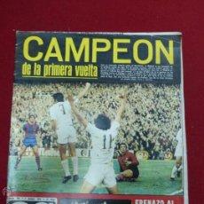 Coleccionismo deportivo: AS COLOR Nº190 NUMERO 190 - REAL MADRID CAMPEÓN - POSTER DE LAS PALMAS. Lote 43819551