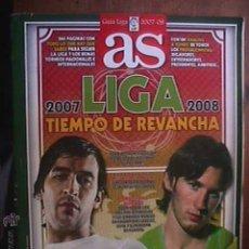 Coleccionismo deportivo: AS, LIGA 2007-2008, TIEMPO DE REVANCHA, AGOSTO DE 2007. Lote 43837824