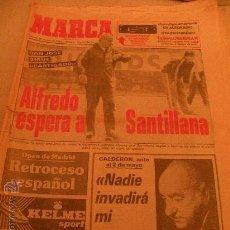 Coleccionismo deportivo: MARCA 28-04-1984 ATHLETIC BILBAO REAL MADRID, PEDRO DELGADO, DA SILVA PICHICHI DEL VALLADOLID. Lote 26988286