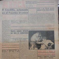 Coleccionismo deportivo: MARCA. 22 AGOSTO 1953. Lote 43946240
