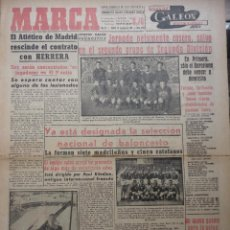 Coleccionismo deportivo: MARCA. 29 ENERO 1953. Lote 43946739