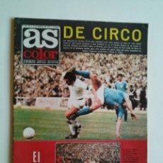 Coleccionismo deportivo: AS COLOR Nº 147 DEL 12-3-1974 - AMPLIO REPORTAJE Y POSTER DE LA SELECCIÓN DE CHILE 1973-74 - FOTOS. Lote 44214612