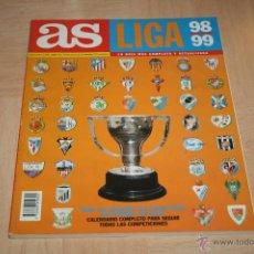 Coleccionismo deportivo: EXTRA LIGA AS TEMPORADA 98-99. Lote 44328577