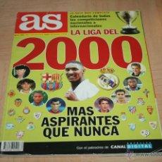 Coleccionismo deportivo: EXTRA LIGA AS TEMPORADA 99-00. Lote 44328605