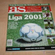 Coleccionismo deportivo: EXTRA LIGA AS TEMPORADA 00-01. Lote 44328621