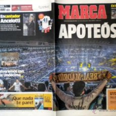 Coleccionismo deportivo: MARCA REAL MADRID LA DECIMA CAMPEON COPA DE EUROPA UEFA CHAMPIONS LEAGUE. Lote 51389346