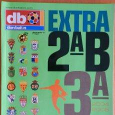 Coleccionismo deportivo: EXTRA DON BALON GUIA SEGUNDA B Y TERCERA DIVISION 2004/2005 - ESPECIAL TEMPORADA LIGA 04-05 FUTBOL. Lote 44438673