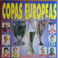 Coleccionismo deportivo: REVISTA EXTRA COPAS EUROPEAS 1996-1997 GUIA DON BALON CHAMPIONS LEAGUE RECOPA UEFA 96/97 CAMPEONES. Lote 44439181