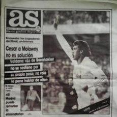 Coleccionismo deportivo: AS, 30 DE NOVIEMBRE DE 1985. Lote 44446721