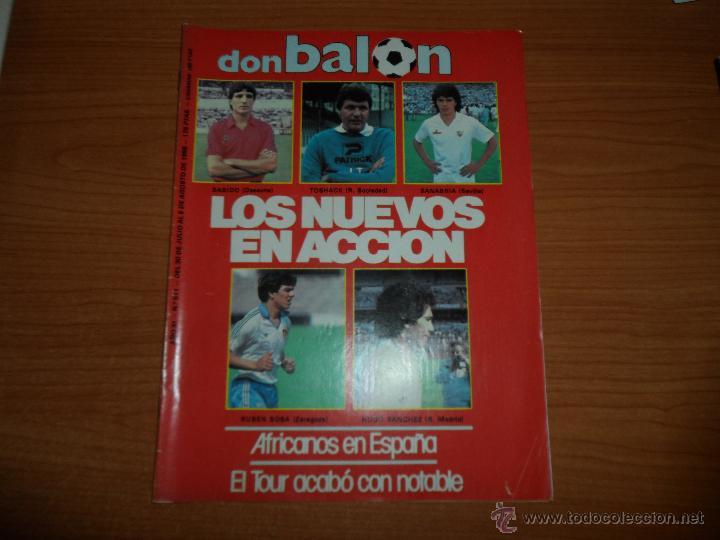 DON BALON Nº 511 REPORTAJE COLOR REAL MADRID REAL SOCIEDAD SEVILLA SPORTING GIJON MALLORCA (Coleccionismo Deportivo - Revistas y Periódicos - Don Balón)