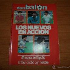 Coleccionismo deportivo: DON BALON Nº 511 REPORTAJE COLOR REAL MADRID REAL SOCIEDAD SEVILLA SPORTING GIJON MALLORCA. Lote 44446759