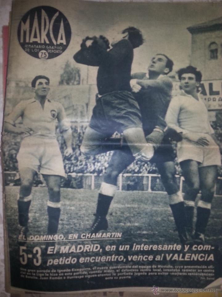 SEMANARIO MARCA Nº150DICIEMBRE DEL 1941 (Coleccionismo Deportivo - Revistas y Periódicos - Marca)