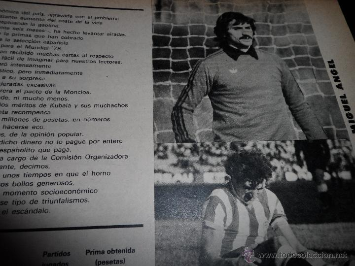 Coleccionismo deportivo: DON BALON Nº 116 1977 REPORTAJE COLOR KEMPES VALENCIA DIARTE ZARAGOZA CARDEÑOSA REAL BETIS - Foto 2 - 38441194