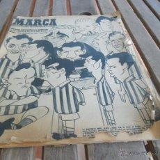 Coleccionismo deportivo: REVISTA MARCA Nº EXTRAORDINARIO DEDICADO A LAS BODA DE ORO AL REAL BETIS BALOMPIE DICIEMBRE 1958. Lote 44933416