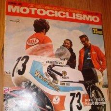 Coleccionismo deportivo: REVISTA DE MOTOCICLISMO AÑO 1972.. Lote 3972800