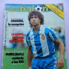 Coleccionismo deportivo: DON BALON Nº 486 FASCICULO HISTORIA UD LEVANTE-POSTER ESTEBAN BARÇA 84/85-ZUÑIGA-PARRA BETIS-OSASUNA. Lote 45137623