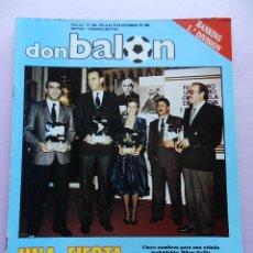 Coleccionismo deportivo: DON BALON Nº 634 POSTER SELECCIÓN ESPAÑOLA 88 EUROCOPA ESPAÑA FUTBOL EURO 1988. Lote 45138392