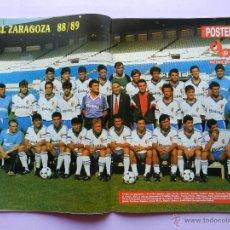 Coleccionismo deportivo: REVISTA DON BALON Nº 666 1988 POSTER REAL ZARAGOZA 88/89 PLANTILLA LIGA-VOSKOV-HIGUERA-LOPEZ REKARTE. Lote 45138433