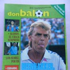 Coleccionismo deportivo: DON BALON Nº 671 POSTER CA OSASUNA PLANTILLA 88/89-LUIS SUAREZ-ALOISIO BARÇA-FERNANDO-DASSAEV. Lote 45138473