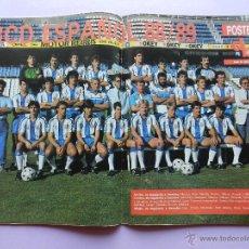 Coleccionismo deportivo: REVISTA DON BALON Nº 673 1988 POSTER RCD ESPAÑOL PLANTILLA 88/89-BUTRAGUEÑO-ESPANYOL 1989. Lote 45138483