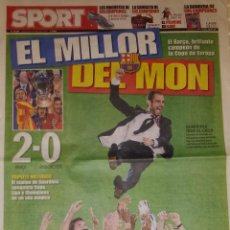 Coleccionismo deportivo: FINAL CHAMPIONS 2009 - FC BARCELONA & MANCHESTER UNITED. Lote 45226043