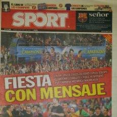 Coleccionismo deportivo: FINAL CHAMPIONS 2011 - FC BARCELONA & MANCHESTER UNITED. Lote 45226081