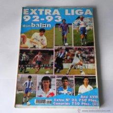 Coleccionismo deportivo: REVISTA DE FUTBOL DON BALON - EXTRA LIGA 92-93. Lote 45330910