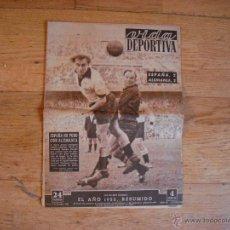 Coleccionismo deportivo: VIDA DEPORTIVA 1952 DICIEMBRE. EN EL INTERIOR EL AÑO RESUMIDO Nº 381. Lote 45496151