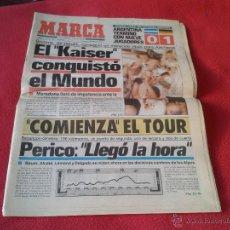 Coleccionismo deportivo: DIARIO MARCA FINAL MUNDIAL DE FÚTBOL ITALIA 1990 90 ALEMANIA CAMPEÓN (EDICIÓN ANDALUCÍA) DIA 9 JULIO. Lote 45595123
