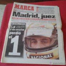 Coleccionismo deportivo: PERIODICO DIARIO MARCA 2 MAYO 1994 FORMULA 1 MUERTE DE AYRTON SENNA F1. Lote 58198836