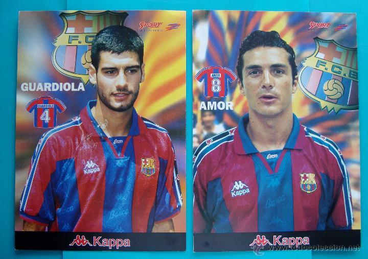COLECCION SPORT FABRICA DE CAMPEONES DEL BARCELONA PRIMERA EDICION 1996 LIBRO Y 22 LAMINAS (Coleccionismo Deportivo - Revistas y Periódicos - Sport)