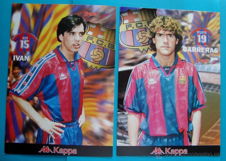 Coleccionismo deportivo: COLECCION SPORT FABRICA DE CAMPEONES DEL BARCELONA PRIMERA EDICION 1996 LIBRO Y 22 LAMINAS - Foto 2 - 45931348