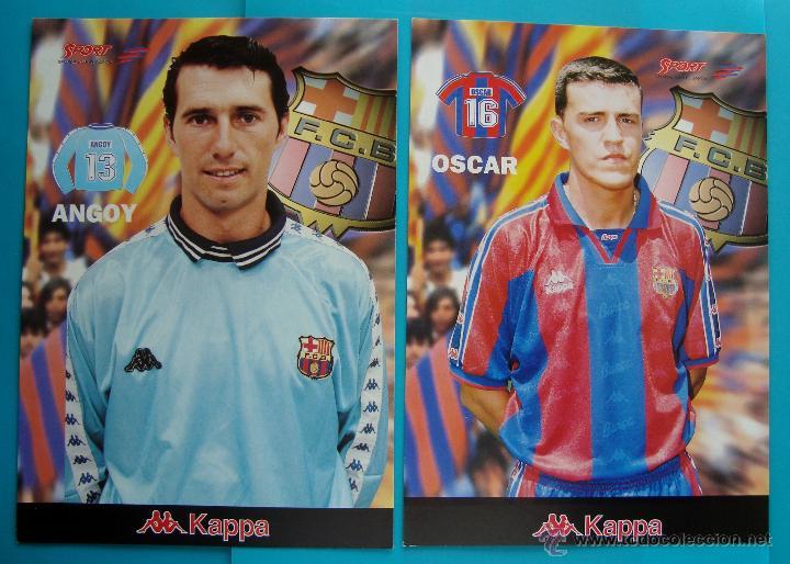 Coleccionismo deportivo: COLECCION SPORT FABRICA DE CAMPEONES DEL BARCELONA PRIMERA EDICION 1996 LIBRO Y 22 LAMINAS - Foto 3 - 45931348