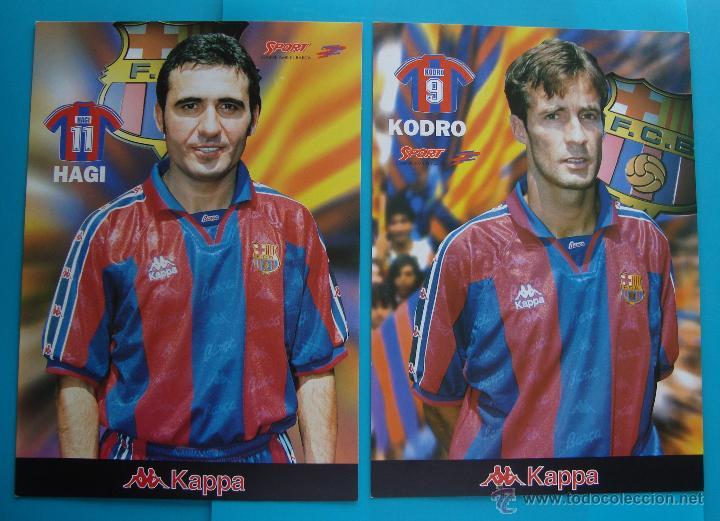 Coleccionismo deportivo: COLECCION SPORT FABRICA DE CAMPEONES DEL BARCELONA PRIMERA EDICION 1996 LIBRO Y 22 LAMINAS - Foto 4 - 45931348