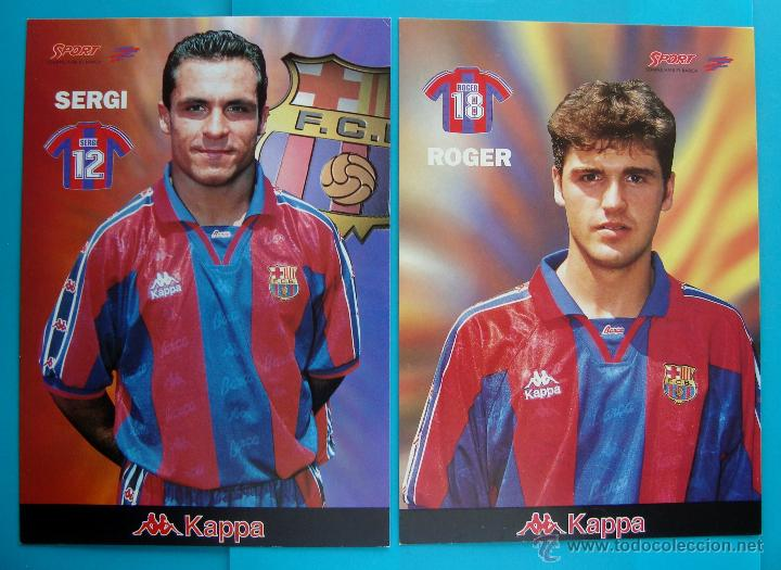 Coleccionismo deportivo: COLECCION SPORT FABRICA DE CAMPEONES DEL BARCELONA PRIMERA EDICION 1996 LIBRO Y 22 LAMINAS - Foto 5 - 45931348