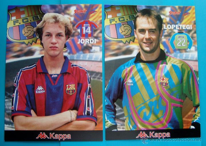 Coleccionismo deportivo: COLECCION SPORT FABRICA DE CAMPEONES DEL BARCELONA PRIMERA EDICION 1996 LIBRO Y 22 LAMINAS - Foto 6 - 45931348