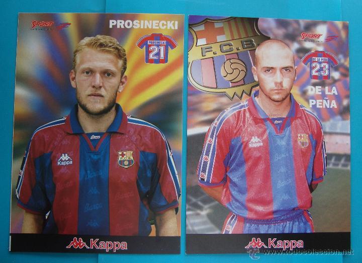 Coleccionismo deportivo: COLECCION SPORT FABRICA DE CAMPEONES DEL BARCELONA PRIMERA EDICION 1996 LIBRO Y 22 LAMINAS - Foto 7 - 45931348