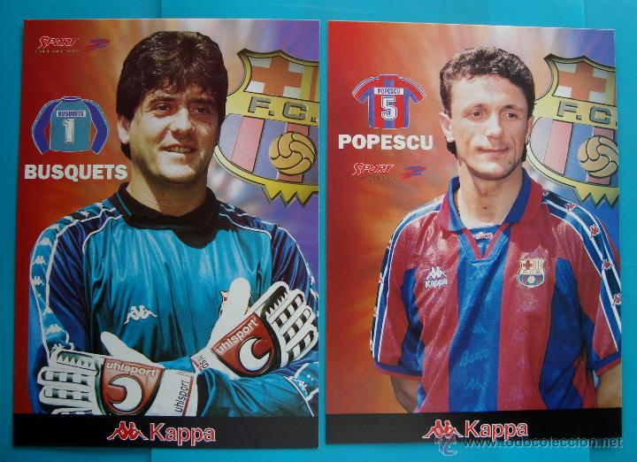 Coleccionismo deportivo: COLECCION SPORT FABRICA DE CAMPEONES DEL BARCELONA PRIMERA EDICION 1996 LIBRO Y 22 LAMINAS - Foto 8 - 45931348