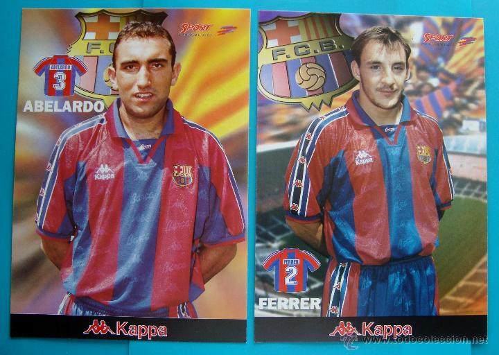 Coleccionismo deportivo: COLECCION SPORT FABRICA DE CAMPEONES DEL BARCELONA PRIMERA EDICION 1996 LIBRO Y 22 LAMINAS - Foto 9 - 45931348