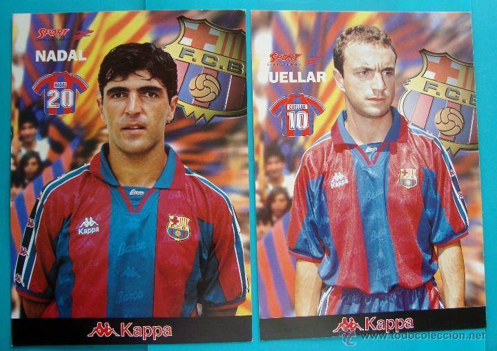 Coleccionismo deportivo: COLECCION SPORT FABRICA DE CAMPEONES DEL BARCELONA PRIMERA EDICION 1996 LIBRO Y 22 LAMINAS - Foto 10 - 45931348