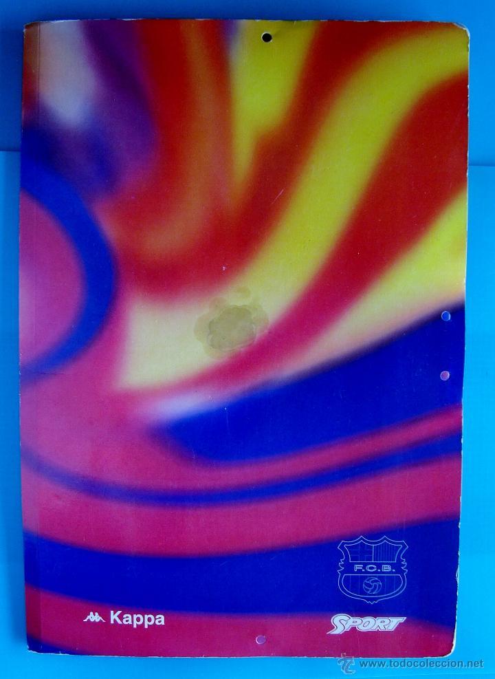 Coleccionismo deportivo: COLECCION SPORT FABRICA DE CAMPEONES DEL BARCELONA PRIMERA EDICION 1996 LIBRO Y 22 LAMINAS - Foto 15 - 45931348