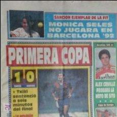Coleccionismo deportivo: SPORT-1991-Nº4224-PRIMERA COPA-EL ESPAÑOL EN MELILLA-. Lote 21135261