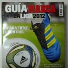 Coleccionismo deportivo: GUIA MARCA 2012. Lote 45747754