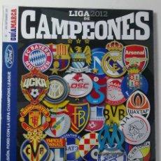 Coleccionismo deportivo: ACTUALIZACION 2012. Lote 45748009
